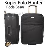 Jual Polo Hunter Tas Koper Softcase Expandable 2 Roda 595 18 Inch Hitam