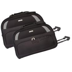 Jual Polo Hunter Tas Kabin Trolley Duffle Bag With Trolley Travel Bag Trolly Tas Pria Tas Wanita 591 Set 2 Pcs Size 19 23 Inch Hitam Polo Hunter