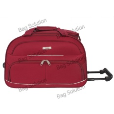 Toko Polo Hunter Tas Kabin Trolley Duffle Bag With Trolley 593 Size 23 Inch Merah Dekat Sini