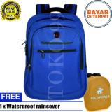 Harga Termurah Polo Power Backpack Expandable Import Laptop Compartemen All Pp082016 18 Blue Raincover Highest Spec Polo Original
