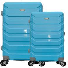 Penawaran Istimewa Polo Team Tas Koper Hardcase 4 Roda Putar Set Size 20 24 Inch 8705 Biru Terbaru
