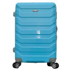 Harga Termurah Polo Team Tas Koper Hardcase 4 Roda Putar Size 24 Inch 8705 Biru