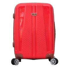 Ulasan Mengenai Polo Team Tas Koper Hardcase Expander Tsa Lock Size 24 Inch 808 Merah
