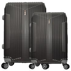 Polo Team Tas Koper Hardcase Set 717 Size 20 24 Inch Abu Diskon Akhir Tahun