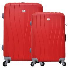 Toko Polo Team Tas Koper Hardcase Set Size 19 23 Inch 002 Merah Polo Team
