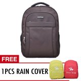 Spek Polo Team Tas Ransel Laptop Rain Cover 702 Cokelat
