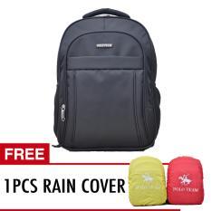 Polo Team Tas Ransel Laptop Rain Cover 702 Hitam Dki Jakarta Diskon