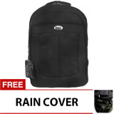 Spek Poloclub Decker Laptop Backpack With Raincover Hitam Jawa Barat