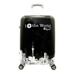 Beli Polo Usbag I Fly World 20 Black White Yang Bagus