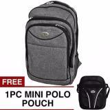 Jual Poloclub Castilla Backpack Free Mini Poloclub Pouch Selempang Online Di Jawa Barat