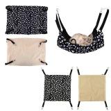 Harga Polyester Pet Rabbit Ferret Chinchilla Cat Hammock Bed Cover Blankets Quality Original
