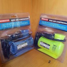 Pompa Angin Ban Mobil Motor Kenmaster Mini Air Compressor 300 Psi 12 Volt DC