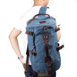 Toko Portable Pria Kanvas Backpack Rucksack Travel Tas Duffle Dark Blue Online