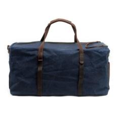 Portable Tas Travel Kanvas Leisure Wax Batik Single Shoulder Luggage Bag Besar Tahan Air-Intl