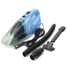 Mobil Penyedot Debu Genggam Portabel Daya Tinggi Hisap Super Kering Basah Perawatan Mobil Kit 120 Watt (Biru)