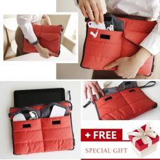 Beli Portable Tas Laptop Wterproof Tablet Pc Tas Tangan Penyimpanan Gadget Pouch Untuk 10 Inci Di Bawah Ipad Intl Murah