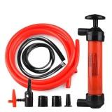 Ulasan Lengkap Tentang Portable Manual Minyak Pompa Siphon Tabung Mobil Selang Gas Cair Sucker Intl