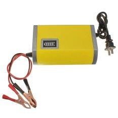 Harga Portable Motorcrycle Car Battery Charger 6A 12V Accu Aki Motor Mobil Termahal