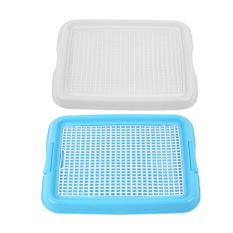 Beli Barang Portable Pet Dog Restroom Training Potty P** Toilet Fence Tray Pad Mat Intl Online