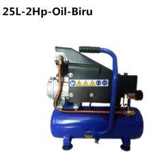 MAXPUMP Kompresor Angin 2 Hp 25L Mesin Air Compressor Oil Listrik - Blue