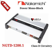 Power Monoblock Nakamichi NGTD-1200.1 Amplifier 1Ch Class D Mono Block Monoblok
