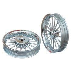 Diskon Power Velg Pelek Racing Tapak Lebar Classic Beat Palang 18 Chrome Branded