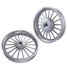 Power Velg Pelek Racing Tapak Lebar Classic Scoopy FI 110 cc Palang 18 chrome 14-215 & 14-250