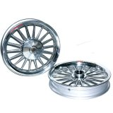 Kualitas Power Velg Pelek Racing Tapak Lebar Classic Xeon Gt 125 Palang 18 Chrome Power