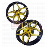 Toko Power Velg Pelek Racing Tapak Lebar Vario Fi 125 Cc Star Palang 5 Hitam Gold 14 215 250 Power Online