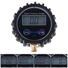 Elektronik Presisi Digital Tire Gauge dengan Pendek Pengukuran Tekanan Katup dan Lampu Latar Biru Night Vision untuk Car Tire-Intl