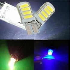 Premium Lampu Led T10 8 SMD 5730 Silicon Canbus - Sen Colok - HIJAU - 4 Buah Toko Berkah Online