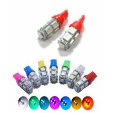 Premium Lampu Sen Tempel Led T10 9 Mata SMD 5050 - Merah - 4 pcs Toko Berkah Online