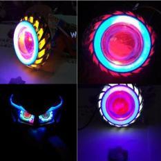 Premium Lampu Utama Headlamp Led Cree PROJIE Double AE - Nanas / TornadoToko Berkah Online