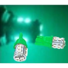 Premium- LED Lampu Motor T10 4 Pcs - Hijau Toko Berkah Online