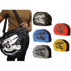 Spesifikasi Premium Raincoat Cover Sarung Helm Anti Air Jas Hujan Tas Helm Motor Funcover Toko Berkah Online