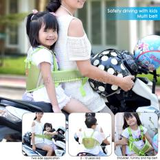 Premium Sabuk Bonceng Motor Anak/bonceng/pengaman goncengan motor anak anti jatuh BY SB-01 - GREEN