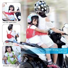 Premium Sabuk Bonceng Motor Anak/pengaman goncengan motor anak anti jatuh BY SB-01 Random Colour