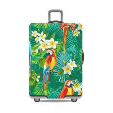 Jual Premium Sarung Koper Elastis Luggage Cover Elastic Pelindung Koper Parrot M Murah Indonesia