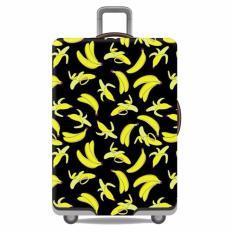 Spesifikasi Premium Sarung Koper Elastis Luggage Cover Pelindung Koper Cover Koper Buah Pisang Size L Murah