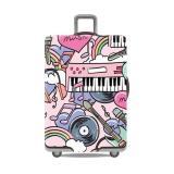 Jual Premium Sarung Koper Elastis Luggage Cover Pelindung Koper Cover Koper Size L Lengkap