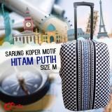 Spesifikasi Premium Sarung Pelindung Koper Luggage Cover Motif Protector Elastis Size L 26 Inc 28 Inc