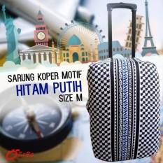 Beli Premium Sarung Pelindung Koper Luggage Cover Motif Protector Elastis Size L 26 Inc 28 Inc Seken