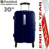 Spesifikasi President 5259A 20 Koper Hard Case 20 Frame Tsa Midnight Blue Baru