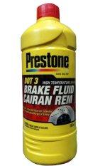 Harga Prestone Dot 3 Brake Fluid Minyak Rem Merah 1 Liter Prestone Asli