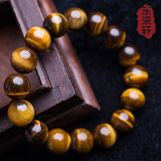 Ulasan Mengenai Pria Batu Mata Harimau Manik Manik Buddha Kristal Batu Giok Gelang