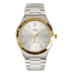 Cara Beli Casio Analog Mtp 1170G 7A Jam Tangan Pria Silver Gold Stainless Steel Band