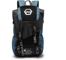 Katalog Dicetak Fashion Shoulder Bag Versi Korea Dari Kapasitas Besar Mahasiswa Backpack Siswa Sekolah Menengah Pertama Tas Pria Tren Mode Kanvas Perjalanan Bahu Tas Komputer Untuk Wanita Intl Terbaru
