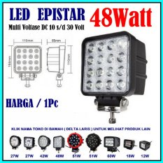 Pro Parts Epistar Lampu Sorot LED 48 Watt Lampu Tembak LED Spot Light Work Light LED 48W 12 V - 24 V 12 Volt - 24 Volt untuk Mobil Motor Offroad Truk Alat berat
