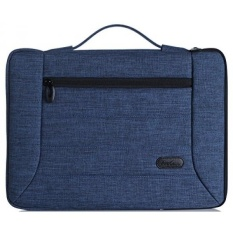 ProCase 14-15.6 Inch Laptop Sleeve Case Cover Bag untuk MacBook Pro, Paling Banyak 14 15 Inch Laptop Ultrabook Notebook Chromebook Lenovo Dell Toshiba HP ASUS Acer-Navy Blue-Intl