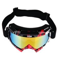 Toko Profesional Motocross Goggles Dirt Bike Atv Motor Ski Kacamata Merah Intl Rbo Tiongkok